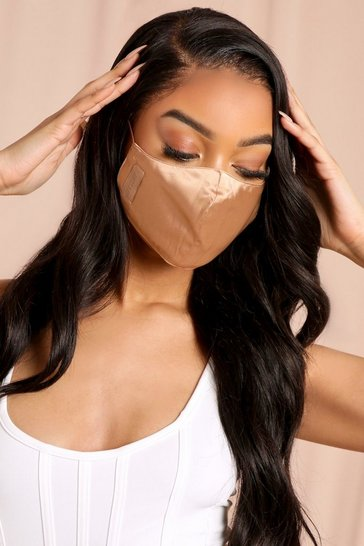 Medium Misspap Satin Skin Tone Fashion Face Mask