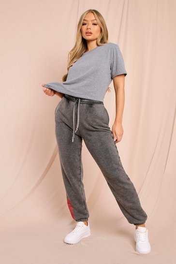 Grey Oversized Boyfriend T Shirt