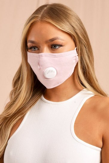 Pink Filter Fashion Face Mask