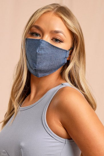 Navy Filter Fashion Face Mask