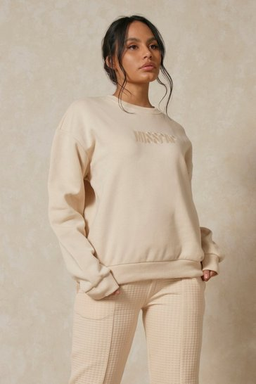 Butter MISSPAP Embroidered Oversized Sweater