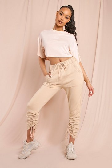 Stone Ruched Jogger