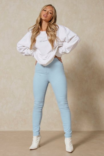 Light wash Denim Stretch Skinny Jeans