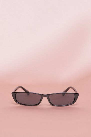 Black Skinny Sunglasses