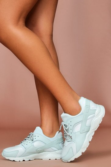 Mint Sport Style Chunky Trainer