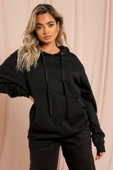Black Limited Edition Paris Oversized Hoodie