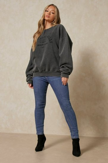 Dark wash High Waisted Skinny Jean