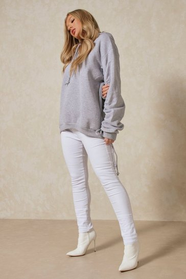 White Disco Fit Skinny Jeans