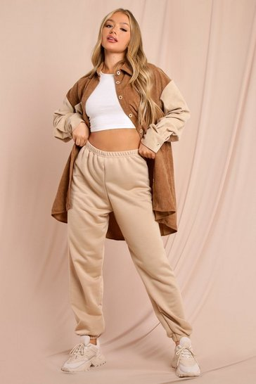 Camel Basic Oversized Loopback Joggers