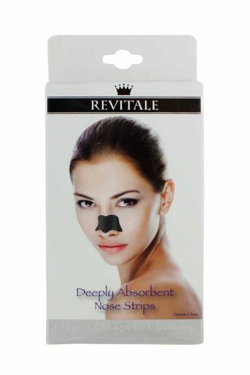 Natural Charcoal Nose Strips