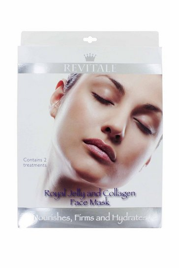 Natural Revitale 2 Royal Jelly & Collagen Face Mask