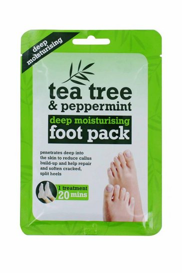 Natural Tea Tree & Peppermint Foot Pack