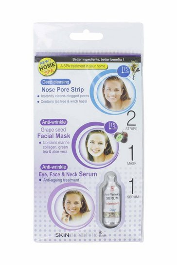 Natural Skin Benifits Nose Strip/F Mask & Serum