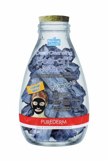Natural Purederm Charcoal Cleansing Peel Off Mask
