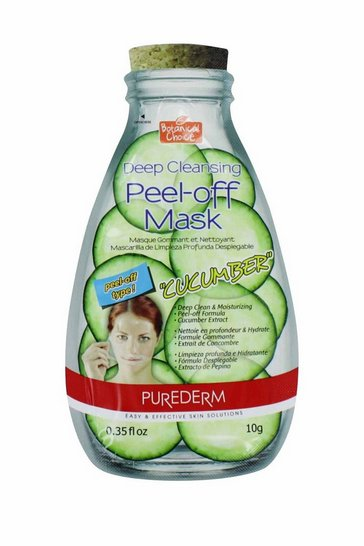 Natural Purederm Peel Off Cucumber Mask