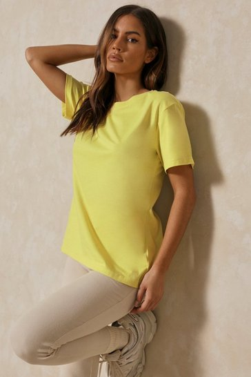 Lemon Oversized Boxy T Shirt