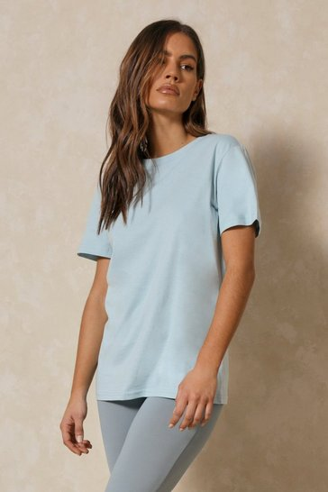 Light blue Boxy Oversized T Shirt