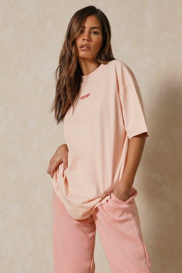 Peach MISSPAP Graphic T-Shirt