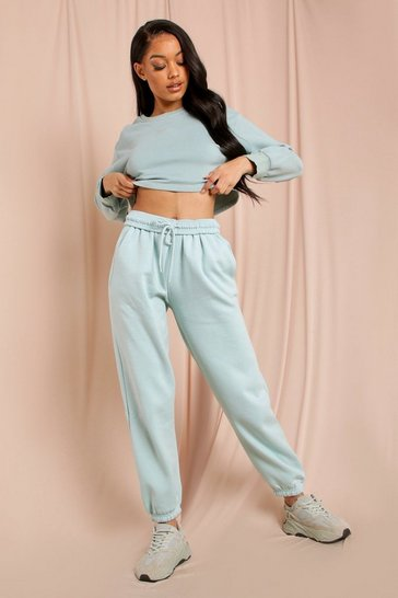 Mint Super Soft Drawstring Joggers