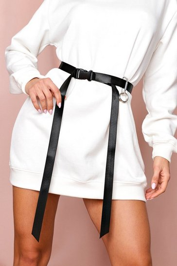 Black Utility Seatbelt Belt
