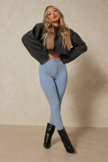 Light blue High Waisted Disco Jeans