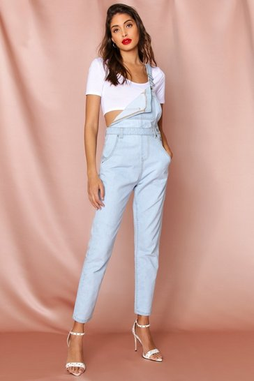 Light blue Denim Boyfriend Dungaree