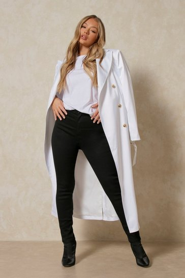 Black Power Stretch High Rise Skinny Jean