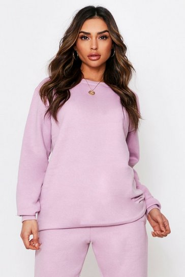 Lilac Ultimate Oversized Fleece Sweater