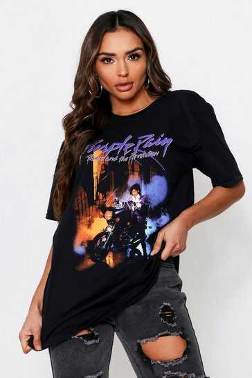 Black Prince Purple Rain License T shirt