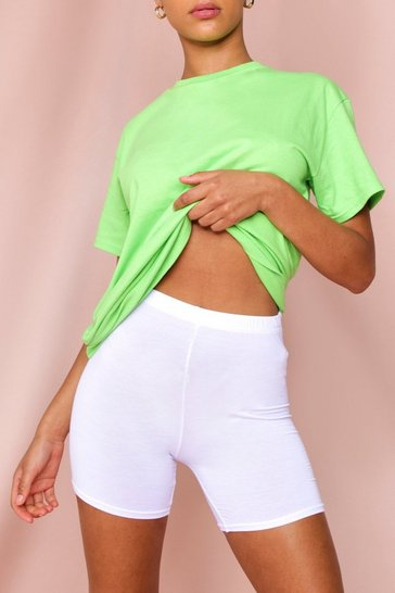 Lime Oversized Boyfriend T-Shirt