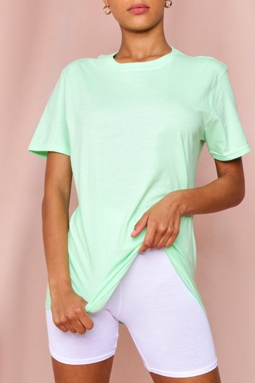 Mint Oversized Boyfriend T-Shirt
