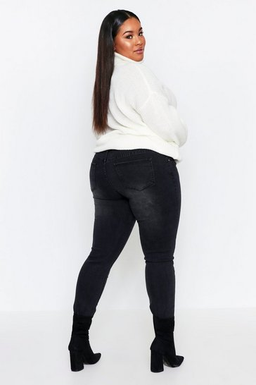 Black Basic Skinny Jeans