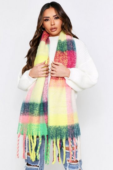Multi Soft Knit Oversized Scarf