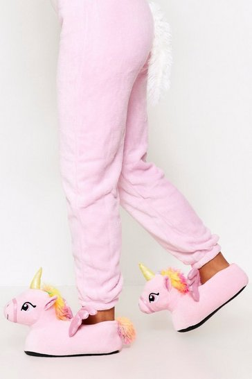 Pink Unicorn Slipper