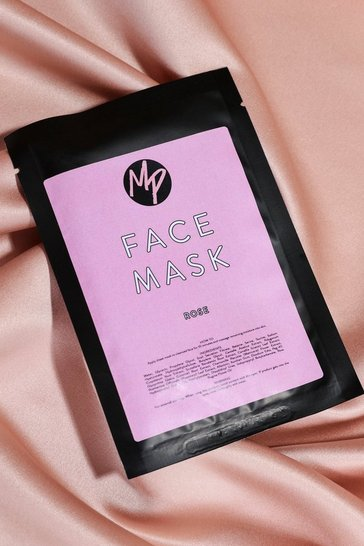 Pink MISSPAP Rose Face Mask