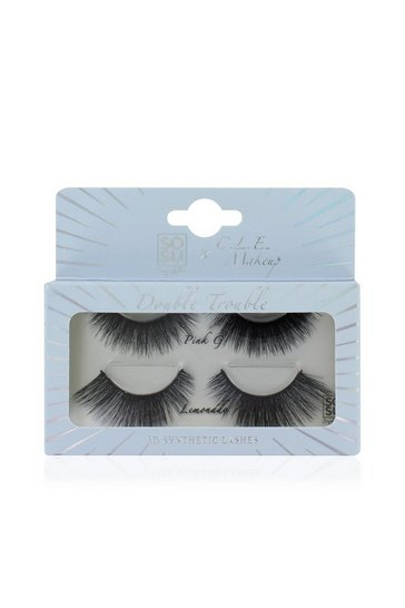 Black SOSU X C.L.E Eyelash 2PK Double Trouble