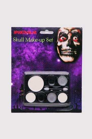 Black Skull Make Up Kit