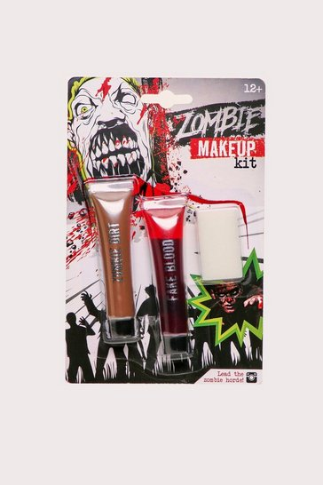 Red Zombie Make Up Kit