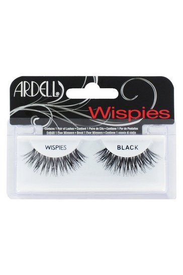 Black Ardell Wispies false lashes