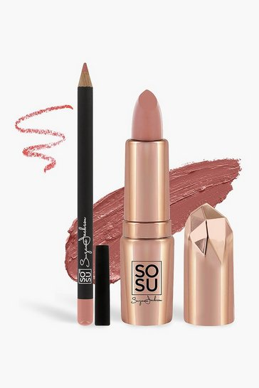 Multi SOU by SJ- SO KISS ME ( Lipstick & Liner) - Birthday Suit
