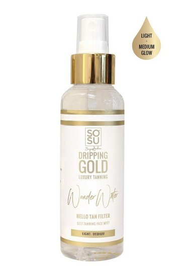 Dripping Gold Wonder Water - Self Tanning Facial Mist Dark