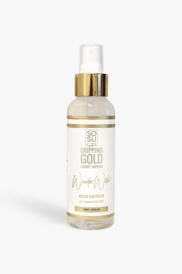 Womens Dripping Gold Wonder Water - Self Tanning Facial Mist Medium