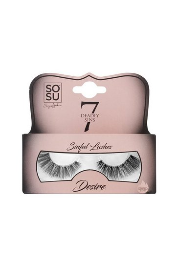 Womens Black 7 Deadly Sins Lashes - DESIRE