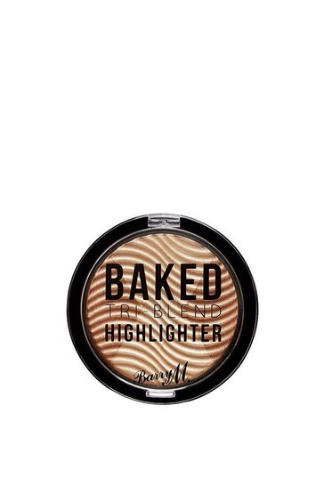 Womens Natural Baked Tri-Blend Highlighte Bronze Deco