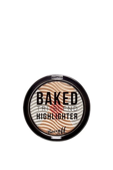 Womens Natural Baked Tri-Blend Highlighte Silver Solstice