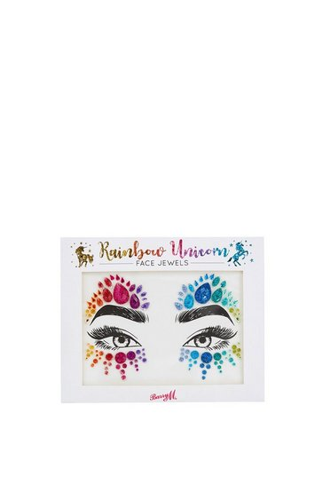 Womens Multi Face Jewels -  Rainbow Unicorn
