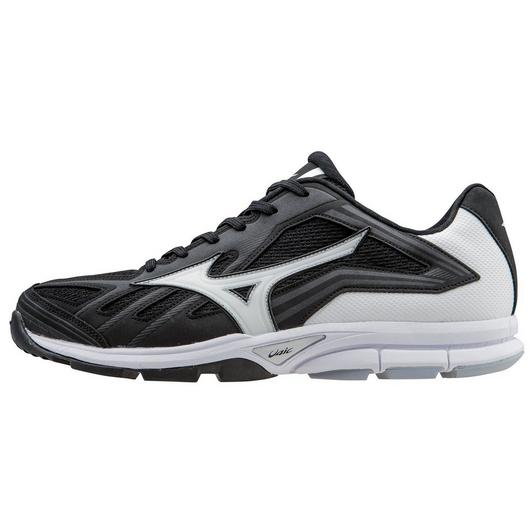 Mizuno Players Trainer Womens White/Black T714486CH Shoes