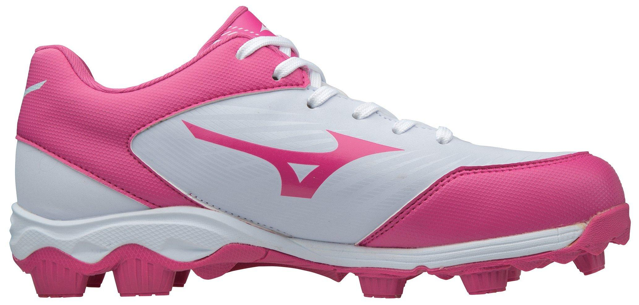 Mizuno Womens 9-Spike Advanced Finch Franchise 7 Molded Softball Cleat Shoe