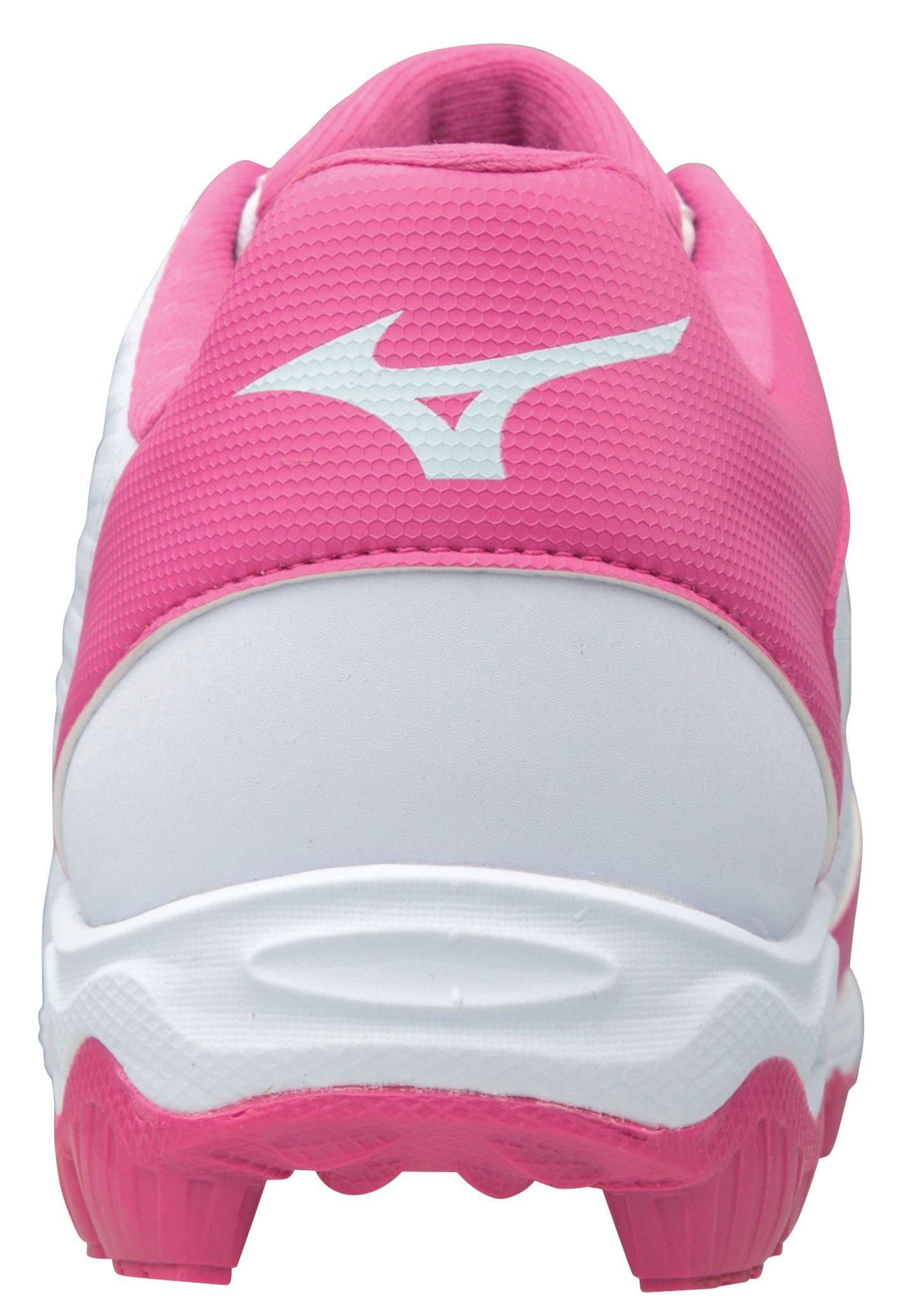 Mizuno 9-spike Pink Black Advanced Softball Cleats Youth Franchise 7 Size 8.5 SP for sale online