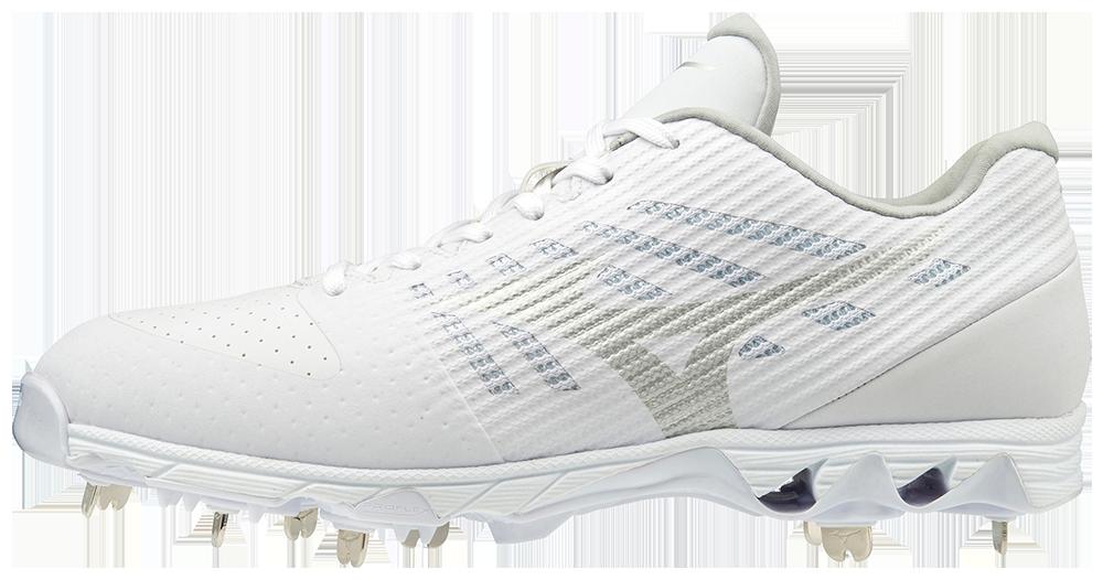 Mens Baseball Shoe Mizuno 9-Spike Ambition Low Mens Metal Baseball Cleat